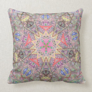 """Sacred Geometry  """"Solar Eclipse"""" Pillow by MAR"""