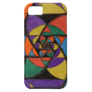 Sacred Geometry Spirals iPhone 5 Cover