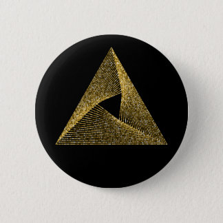 Sacred Geometry Symbol 2 Inch Round Button