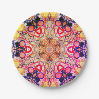 """Sacred Geometry """"The wish"""" Paper plate by Mar"""