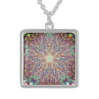 "Sacred Geometry ""Tribal Faces"" Necklace by MAR"