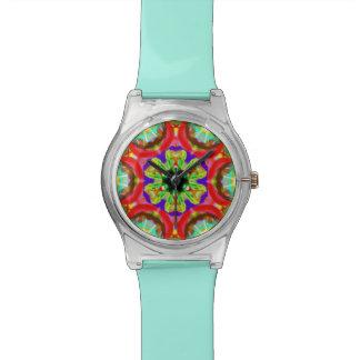 "Sacred Geometry ""Tribal Faces"" Wrist by MAR Wristwatch"