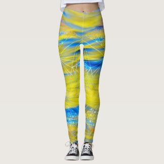 Sacred Geometry Water Element Leggings