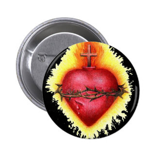Sacred Heart 2 2 Inch Round Button