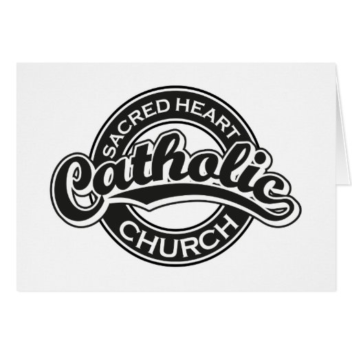 Sacred Heart Catholic Church Black Card