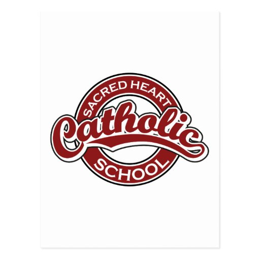 Sacred Heart Catholic School Red Post Cards