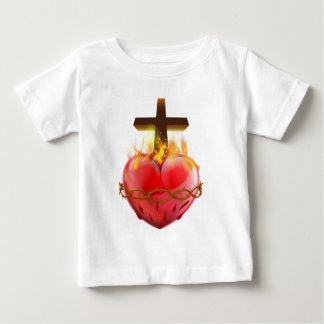 Sacred Heart Christian Symbol Baby T-Shirt