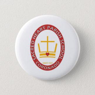 Sacred Heart Coronado Logo 2 Inch Round Button