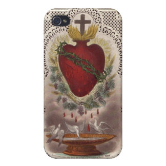 Sacred Heart iPhone 4/4s cover