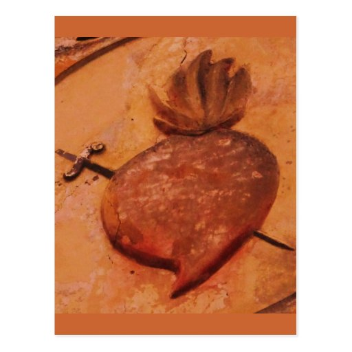 SACRED HEART Italy Postcards