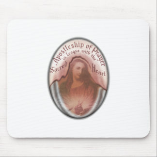 Sacred Heart Jesus Christian Catholic Modern Art Mouse Pad