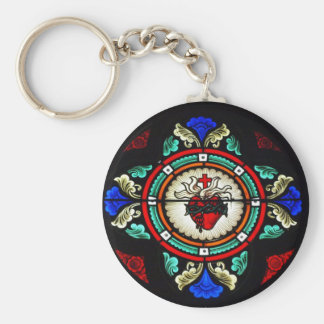 Sacred Heart Keychain