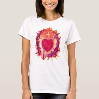 Sacred Heart Ladies Shirt in Choice of Colors