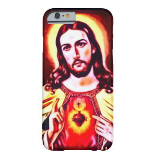 Sacred Heart of Jesus Art Nouveau Print Barely There iPhone 6 Case