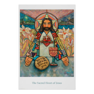 Sacred Heart of Jesus Classroom Poster