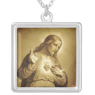 Sacred Heart of Jesus Custom Necklace