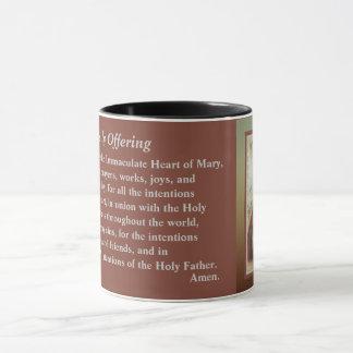 Sacred Heart of Jesus Daily Offering Mug