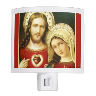 Sacred Heart of Jesus Immaculate Heart of Mary Nite Lite