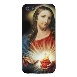 Sacred Heart of Jesus iPhone 5/5S Cases