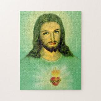 Sacred Heart of Jesus Puzzle - Sagrado Corazon