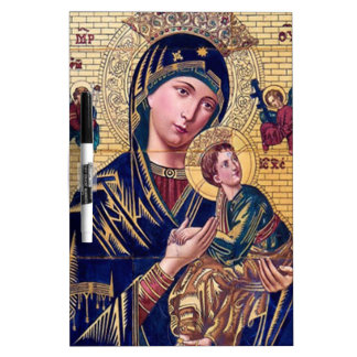 SACRED HEART OF MARY 19  CUSTOMIZABLE PRODUCTS DRY ERASE BOARD