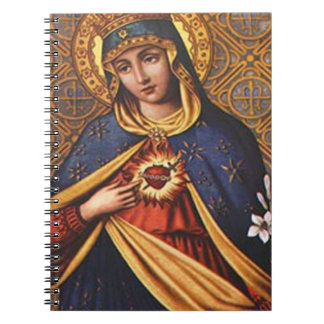 SACRED HEART OF MARY 25 CUSTOMIZABLE PRODUCTS NOTEBOOK