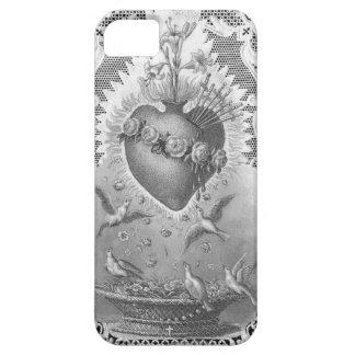 Sacred Heart Prayer Antique Vintage Art Phone Case