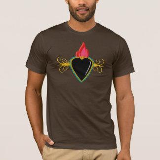 Sacred Heart with Flourishes Milagro Custom Shirts