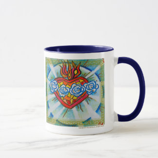Sacred Immaculate Heart of Mary: Pray for Us Mug