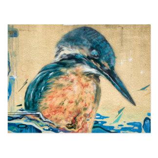 Sacred Kingfisher Wall Art Postcard