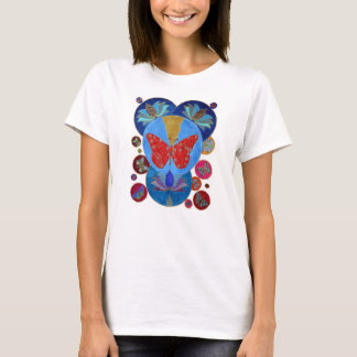 Sacred Lotus & The Butterfly T-Shirt