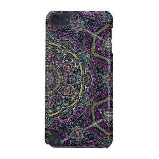 Sacred mandala stars and lace purple and black iPod touch 5G covers