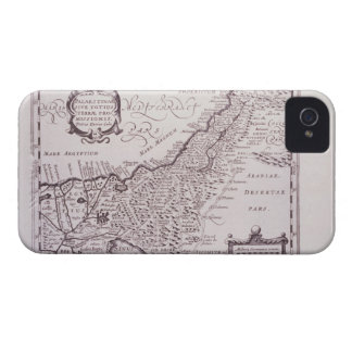 Sacred Map of Palestine, The Promised Land iPhone 4 Cover