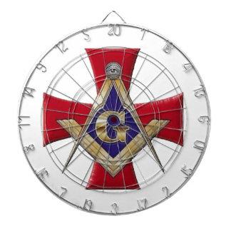 Sacred Order of the Brotherhood Dartboard