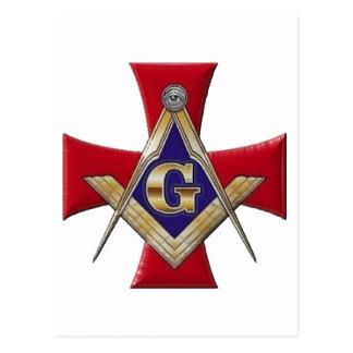Sacred Order of the Brotherhood Postcard