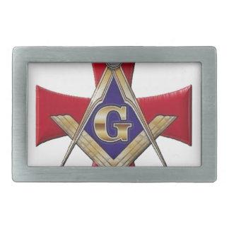 Sacred Order of the Brotherhood Rectangular Belt Buckle