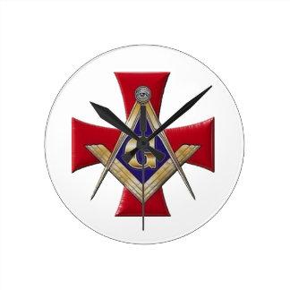 Sacred Order of the Brotherhood Round Clock
