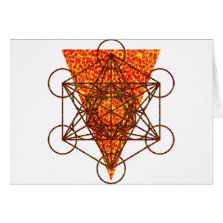 sacred pizzametry card