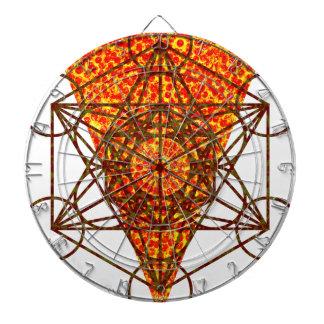sacred pizzametry dartboard