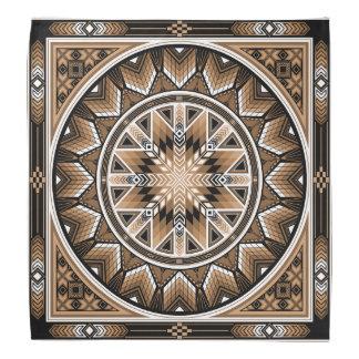 Sacred Places (Brown) Bandana