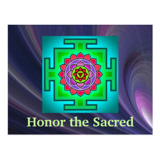 Sacred postcard