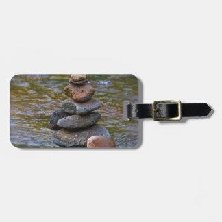 Sacred rock pile Sedona Creak Bag Tag