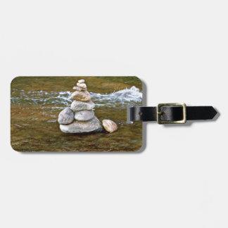 Sacred rock pile Sedona Creak Luggage Tag