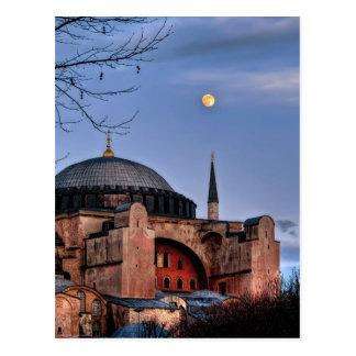 Sacred Silence – Hagiasofia (HDR) Postcard