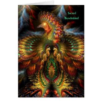 Sacred Thunderbird - Bearer of Happiness Card