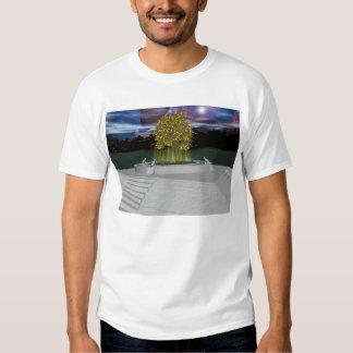 Sacred Tree Eclipse T Shirts