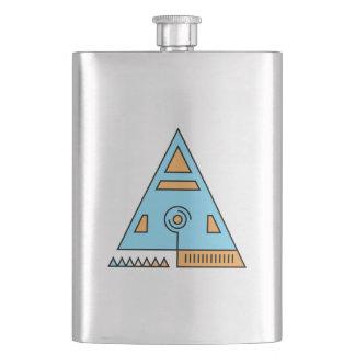 Sacred Triangle Hip Flask