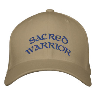 SACRED WARRIOR EMBROIDERED HAT