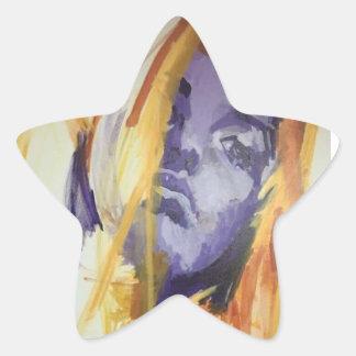 Sacrifice by Lesley Morrow Star Sticker