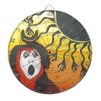 Sacrifice to the Solar Snake God Dartboard